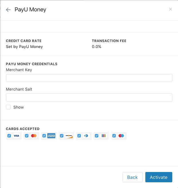 Integration of pay u money gateway - Shopify Community