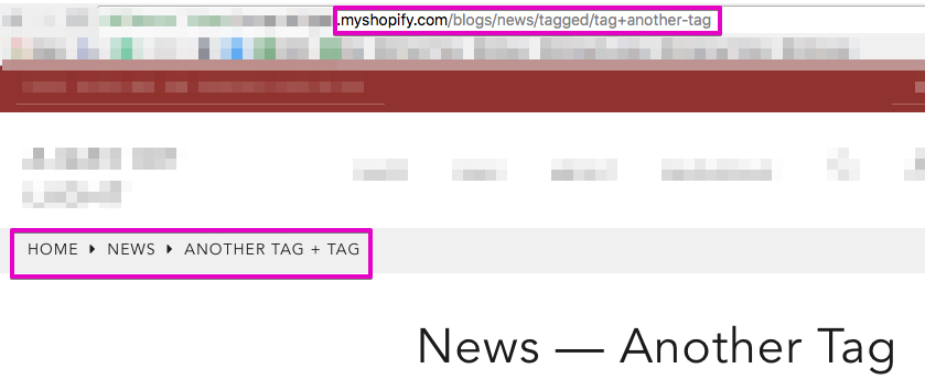 Filter Blogs by tags (multiple tags) - Shopify Community