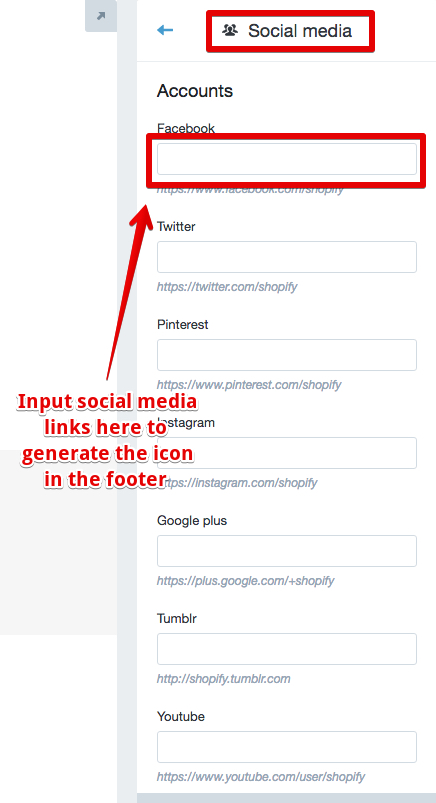 Need help with social media icons - Shopify Community