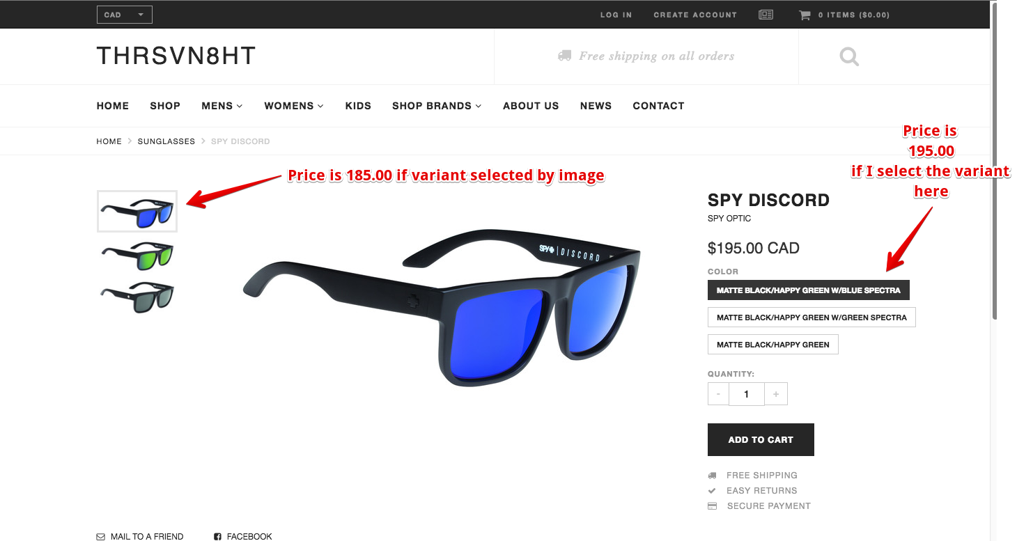 how to add a variant in shopify